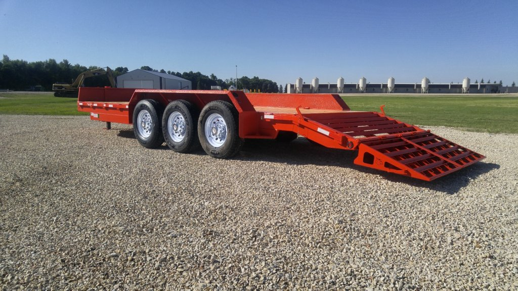 Heavy Duty Triaxle Equipment Trailer