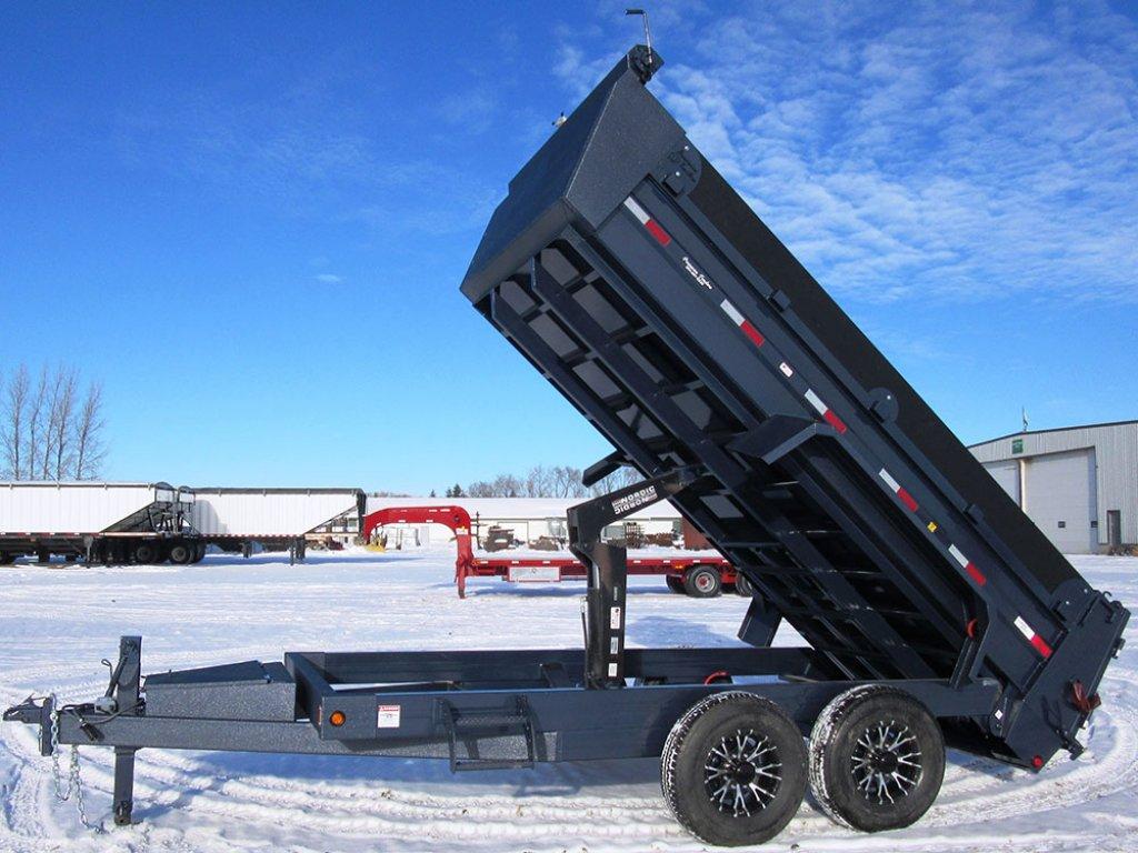 Precision Trailers Trailer Series Dumps Bumper Pull Dump Wiring Harness